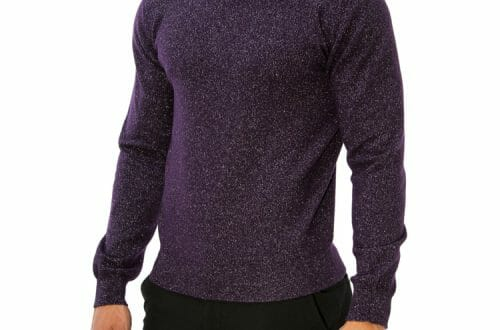 bolan mens rollneck cashmere lurex sweater.004 Gentlemen's Fashion: Limited Edition Luxury Cashmere Sweater With Silver - EAT LOVE SAVOR International luxury lifestyle magazine, bookazines & luxury community