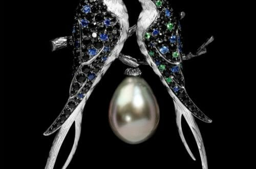 brooch by mousson atelier Discover: Mousson Atelier: Beauty in Russian Luxury Jewelry Design and Production - EAT LOVE SAVOR International luxury lifestyle magazine and bookazines