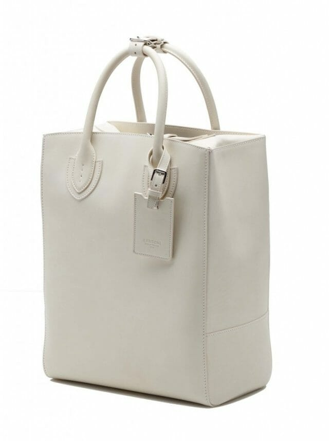 BERTONI1949SMALL PLUTO TOTE IN FRENCH CALF