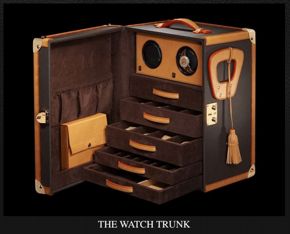 EPHTEE watch trunk Discover: EPHTÉE Master French Trunk Maker - EAT LOVE SAVOR International luxury lifestyle magazine and bookazines