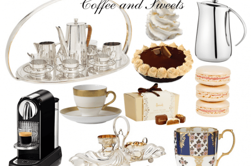luxury moment coffee and sweets Luxury Moment: Coffee and Sweets - EAT LOVE SAVOR International luxury lifestyle magazine and bookazines