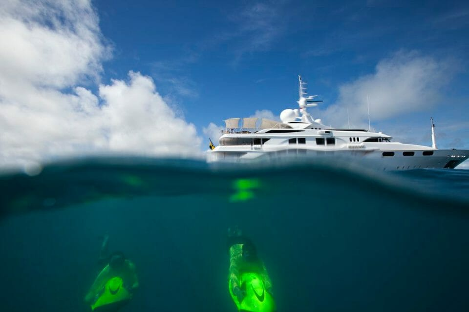 STARFIRE Yacht - Image courtesy of CharterWorld