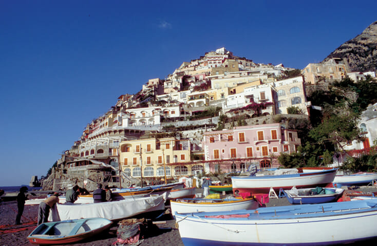 Positano - Amalfi Coasts - Photo by Paola Ghirotti - Image credit to Italian Tourism Board ENIT