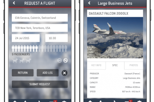 screenshots lunajets app Booking a Private Jet is at Your Fingertips with your Mobile Phone and LunaJets App - EAT LOVE SAVOR International Luxury Lifestyle Magazine
