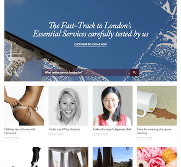 almost essential screenshot Almost Essential: The Fast Track to London's Essential Services - EAT LOVE SAVOR International Luxury Lifestyle Magazine