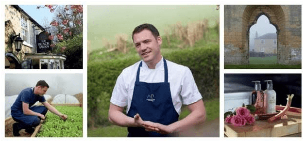 molton brown and chef tommy banks