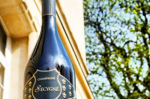 Secygne Luxury Champagne bottle Discover: Sécygné Luxury Champagne House in Reims - EAT LOVE SAVOR International luxury lifestyle magazine, bookazines & luxury community
