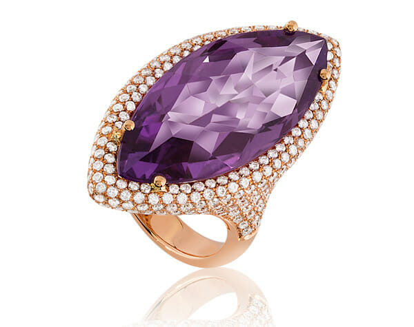 Violet Vision selected jewels A Vision in Violet, 25 Carats of Grace and Beauty - EAT LOVE SAVOR International Luxury Lifestyle Magazine