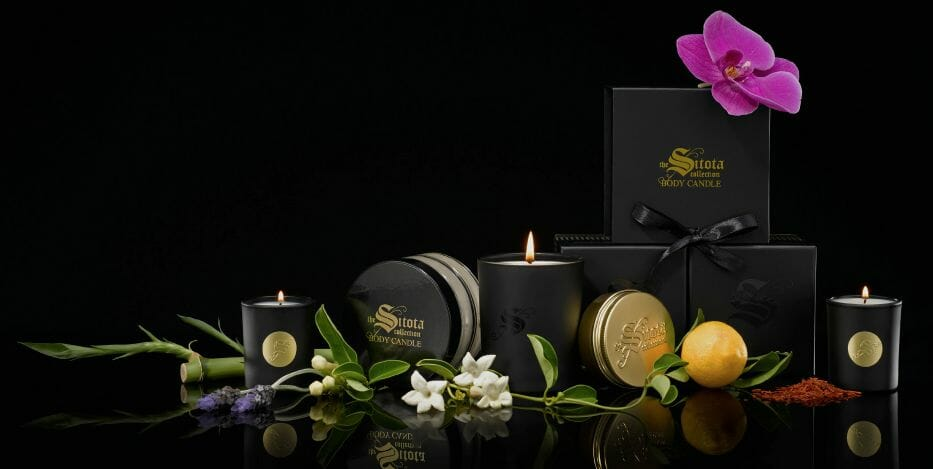 sitota candle collection A Luxury Candle Good for the Skin - EAT LOVE SAVOR International luxury lifestyle magazine and bookazines