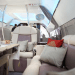 flymenow jet interior Fine Dining Experience at 30,000 ft: Enhanced Charter Catering is on the Menu - EAT LOVE SAVOR International Luxury Lifestyle Magazine