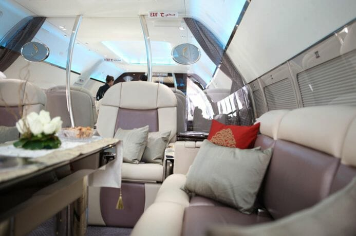 flymenow jet interior Fine Dining Experience at 30,000 ft: Enhanced Charter Catering is on the Menu - EAT LOVE SAVOR International luxury lifestyle magazine, bookazines & luxury community