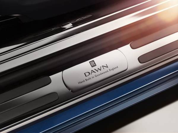 Rolls-Royce Dawn running board