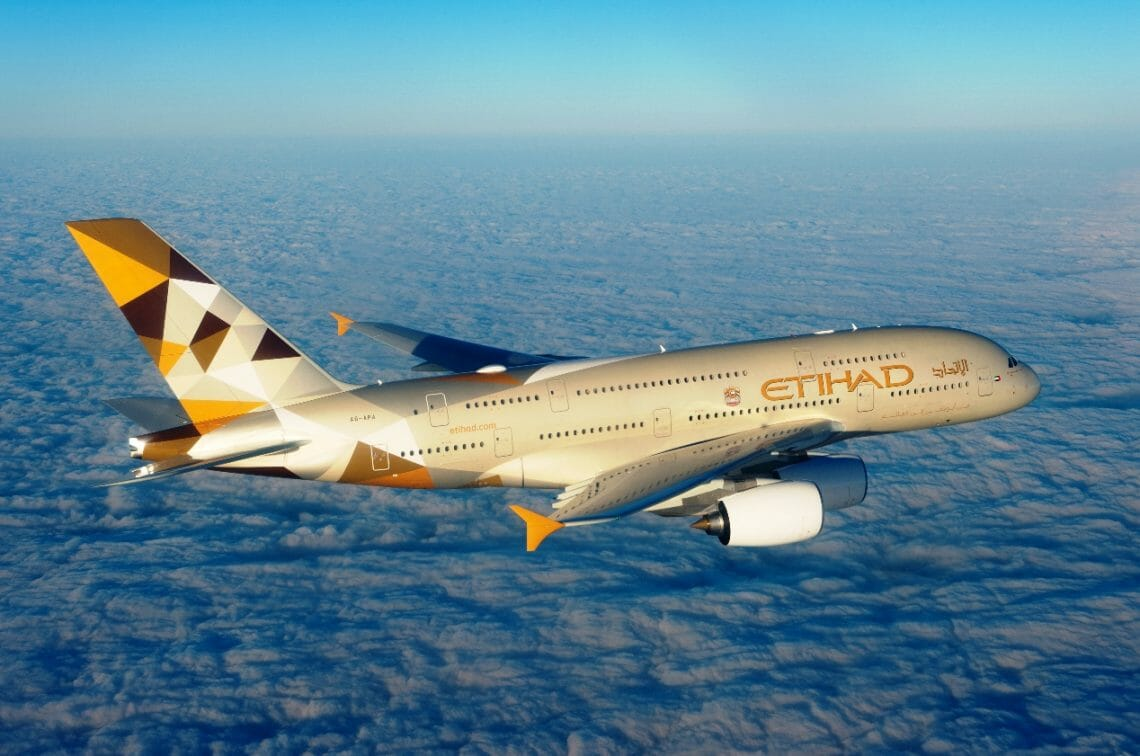 ETIHAD AIRWAYS A3801 Private Jet Collaboration with Etihad Airways, Chapman Freeborn, Airbus A380: Luxury Living in the Air - EAT LOVE SAVOR International luxury lifestyle magazine, bookazines & luxury community