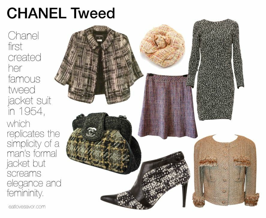 chanel tweed
