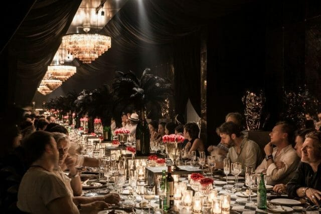 Dinner at Timothy Oulton showroom, China (Timothy Oulton VeryFirstTo)