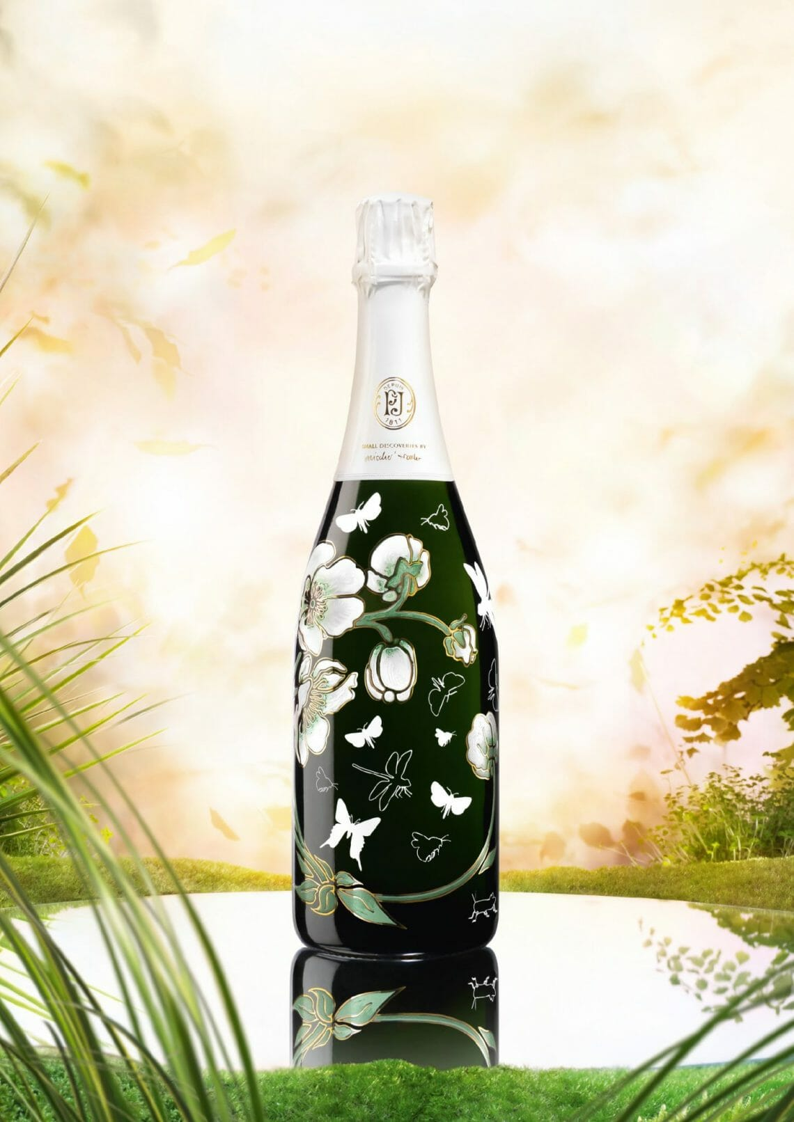 Small Discoveries Belle Epoque Perrier-Jouët Limited Edition Champagne: Flowers, Butterflies and 'small discoveries' - EAT LOVE SAVOR International Luxury Lifestyle Magazine