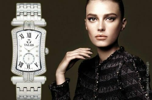 Talos timepiece with woman Legend Meets Luxury in Talos Timepieces - EAT LOVE SAVOR International luxury lifestyle magazine and bookazines