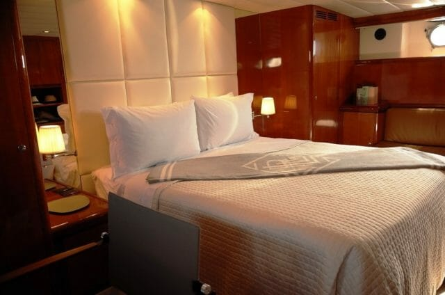 MY MOONRAKER - Master stateroom view 2