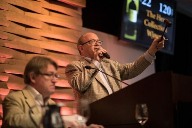 premiere napa valley auctioneer