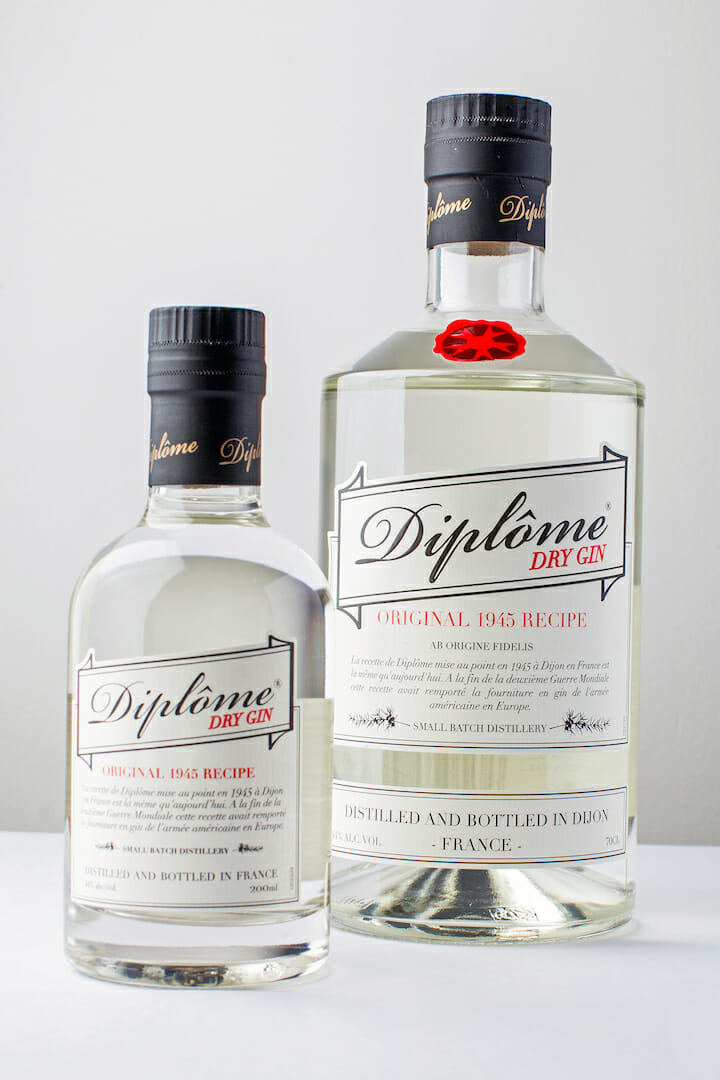 Diplome 2 sizes smll Discover: Historic 1945 French Diplôme Dry Gin - EAT LOVE SAVOR International Luxury Lifestyle Magazine