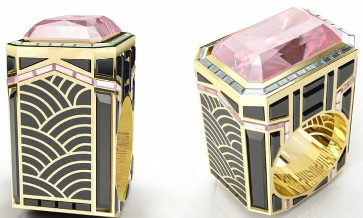 art deco tower ring