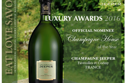 nominee luxury awards 2016 champagne jeeper Luxury Award 2016 Nominee: Category - Champagne: Champagne JEEPER - EAT LOVE SAVOR International luxury lifestyle magazine, bookazines & luxury community