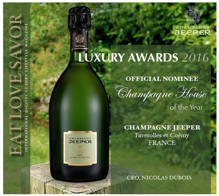 nominee luxury awards 2016 champagne jeeper