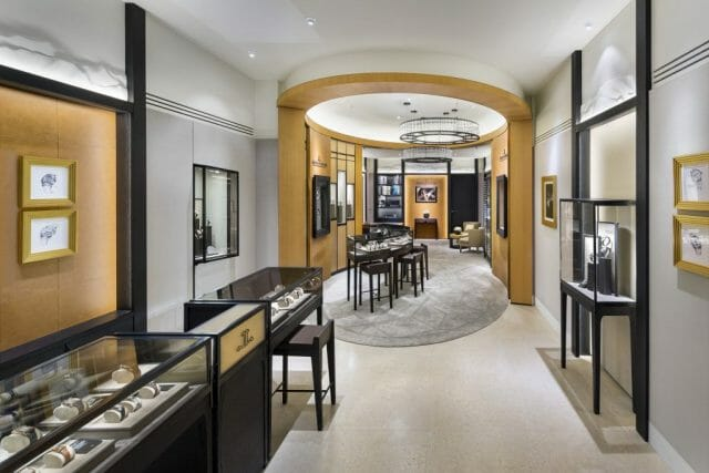 Jaeger-LeCoultre Boutique in Vancouver - Interior 1