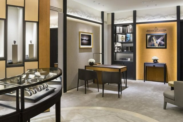 Jaeger-LeCoultre Boutique in Vancouver - Library