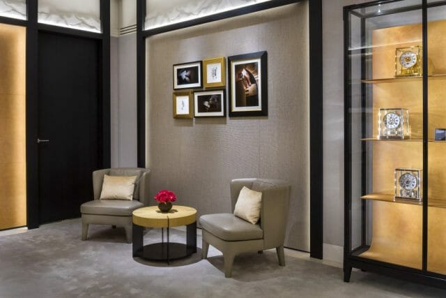 Jaeger-LeCoultre Boutique in Vancouver - Lounge and Atmos