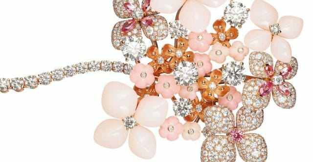EAT LOVE SAVOR Luxury Lifestyle Magazine - Chaumet broche Hortensia