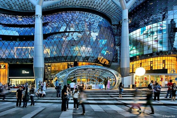 luxury ION Orchard Shopping Mall The Human Index in Luxury - EAT LOVE SAVOR International luxury lifestyle magazine and bookazines