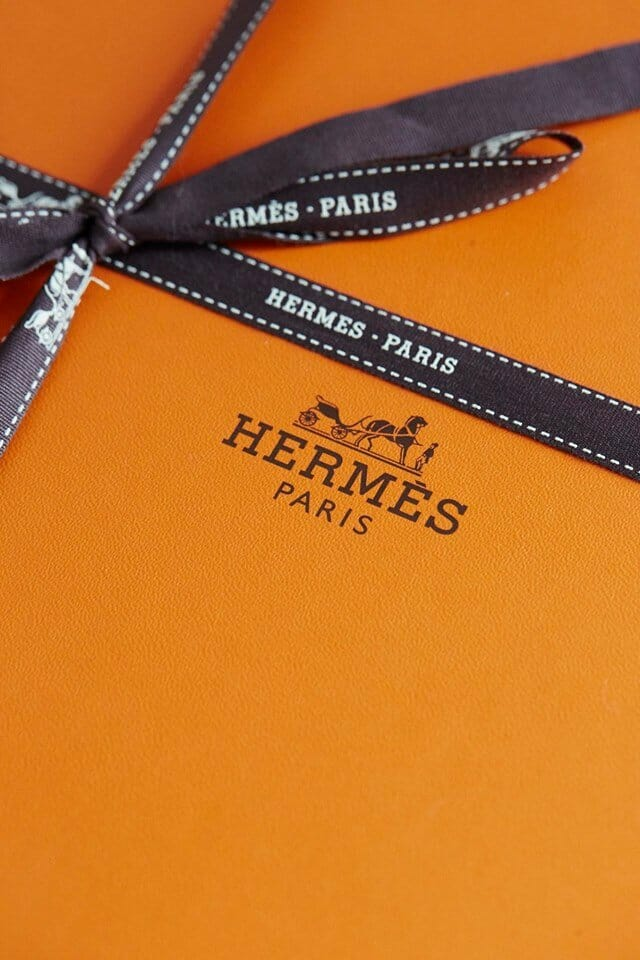 orange hermes box