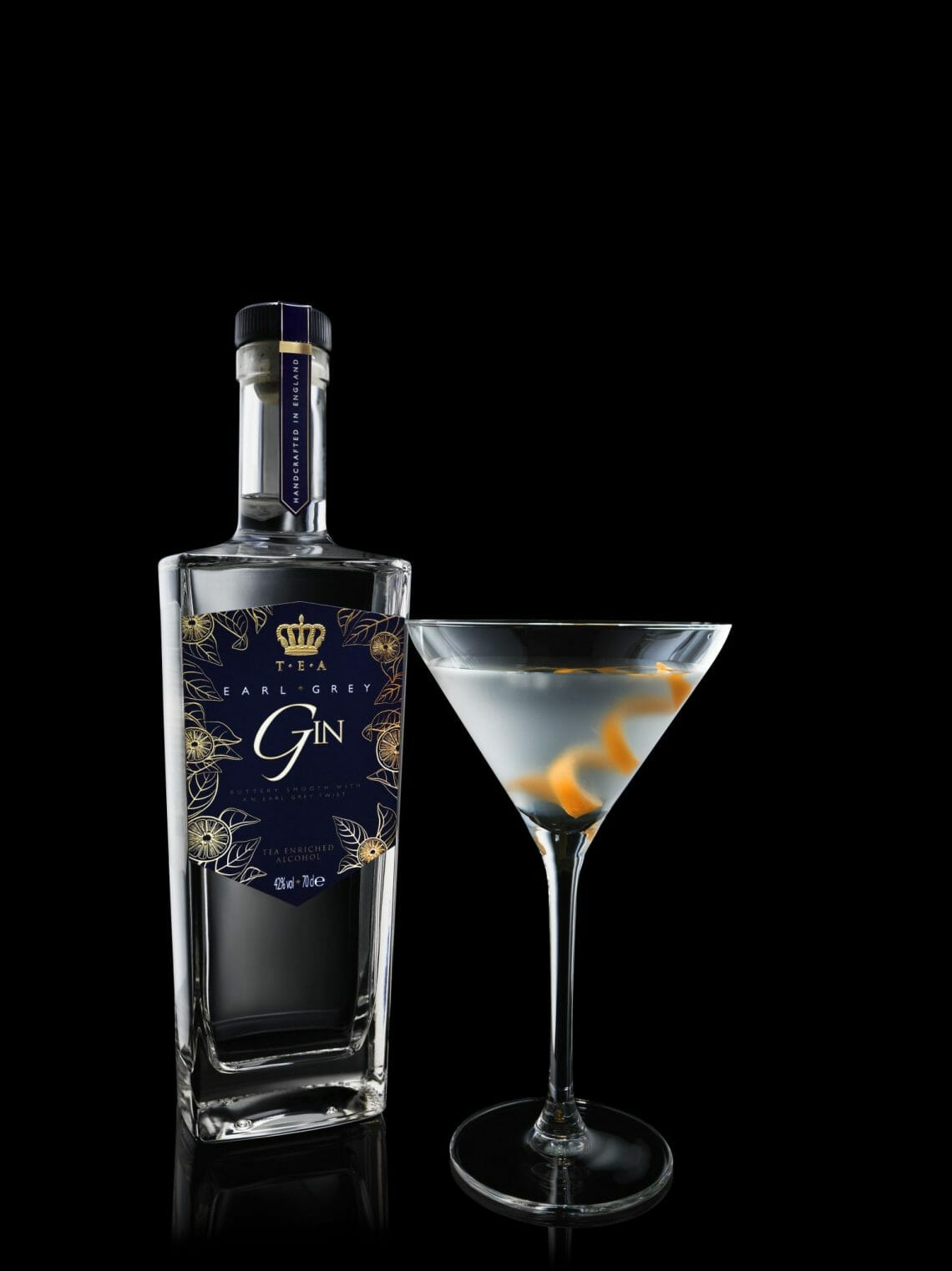 Earl Grey Gin Glass Discover: T.E.A – Tea Enriched Alcohol - EAT LOVE SAVOR International Luxury Lifestyle Magazine