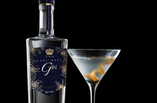 Earl Grey Gin Glass Discover: T.E.A – Tea Enriched Alcohol - EAT LOVE SAVOR International luxury lifestyle magazine and bookazines
