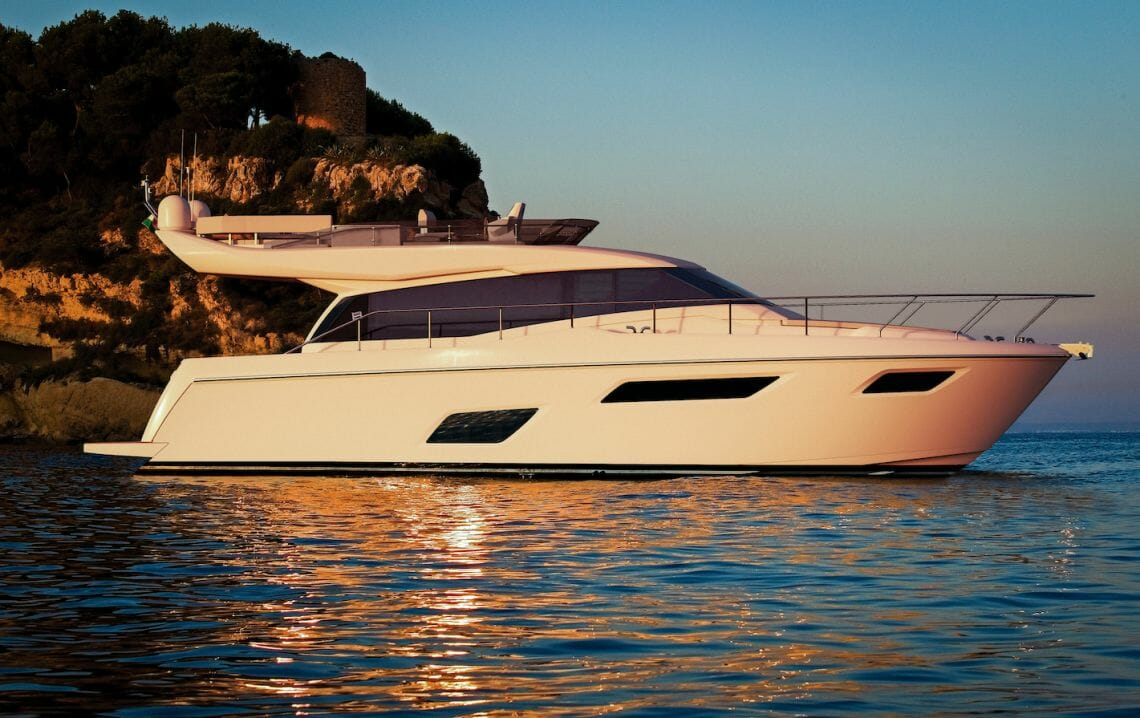 Ferretti yachts 450 Zuccon International Project: Preview of 3 New Models At The Cannes Yachting Festival - EAT LOVE SAVOR International luxury lifestyle magazine, bookazines & luxury community
