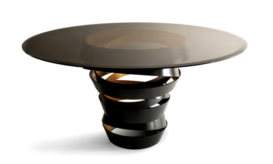 Intuition dining table by Koket - luxury lifestyle magazine - eat love savor
