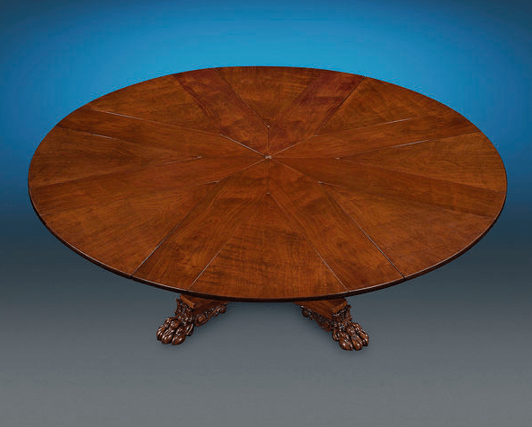 Robert Jupe expanding table with leaves