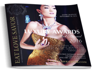 luxury awards booklet january event