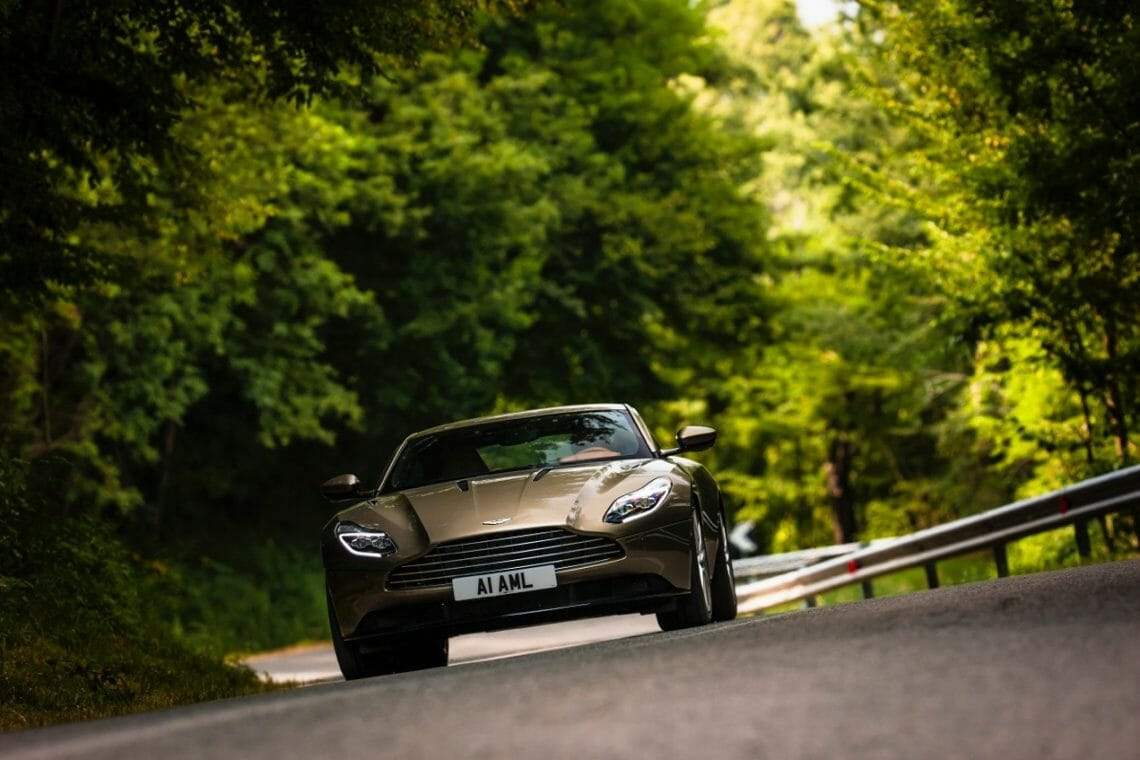 DB11 Arden Green 24 Bridge Of Weir Marks A 'Century Of Iconic Interiors' With Aston Martin, Ford And Delorean At Concours Of Elegance 2016 - EAT LOVE SAVOR International luxury lifestyle magazine and bookazines