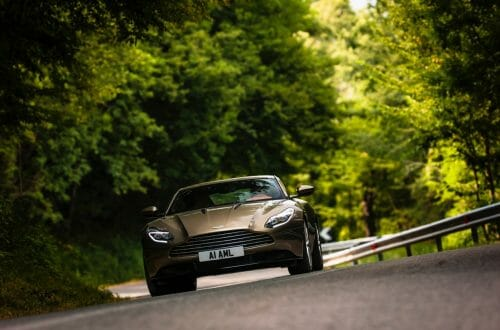 DB11 Arden Green 24 Bridge Of Weir Marks A 'Century Of Iconic Interiors' With Aston Martin, Ford And Delorean At Concours Of Elegance 2016 - EAT LOVE SAVOR International luxury lifestyle magazine, bookazines & luxury community