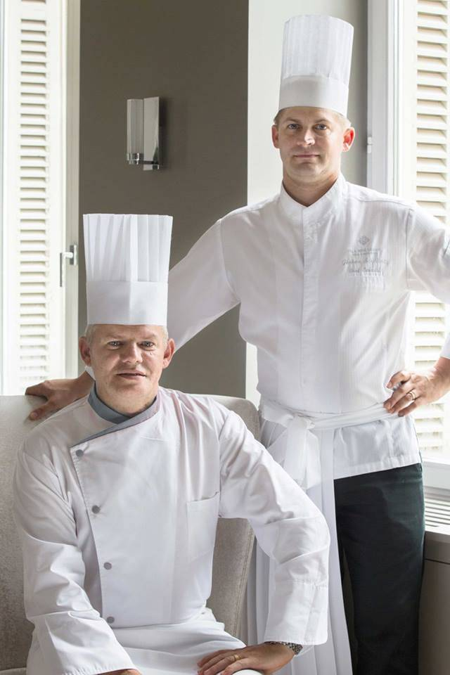 chateau hochberg chefs eric frieden chef jerome schilling - luxury lifestyle magazine eat love savor
