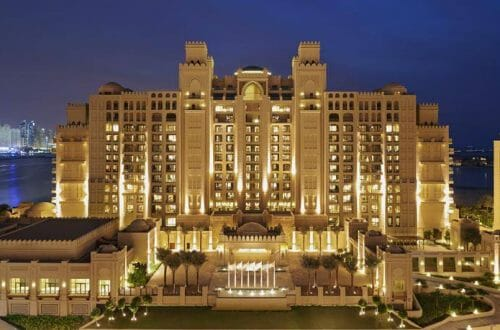 fairmont the palm dubai exterior The Fairmont The Palm Dubai Hotel is Everything You Love About Dubai - EAT LOVE SAVOR International luxury lifestyle magazine and bookazines
