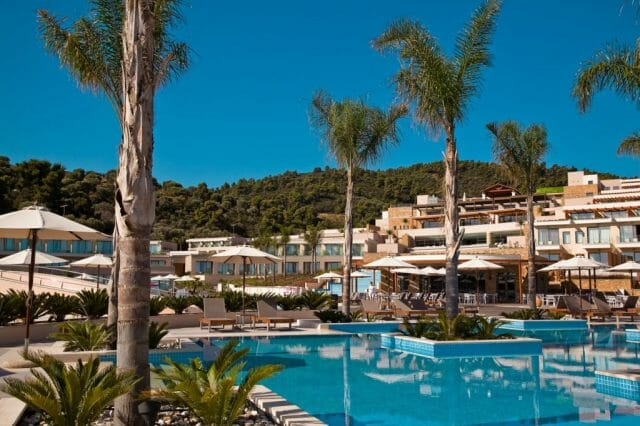 miraggio resort exterior - luxury lifestyle magazine eat love savor