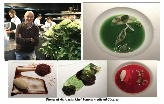 dinner-at-atrio-with-chef-tono-in-medieval-caceres - eat love savor luxury lifestyle magazine