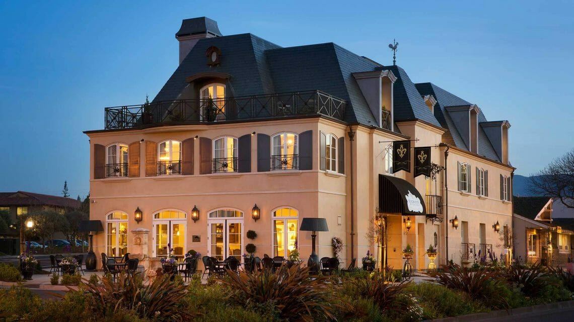 Enchante Outside Enchante: Contemporary French Luxury Hotel in Silicon Valley - EAT LOVE SAVOR International Luxury Lifestyle Magazine