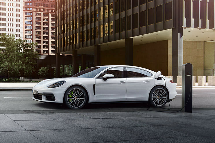 porsche-hybrid-charging-on-the-road