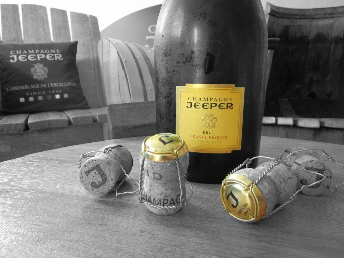 champagne jeeper black and white Inside the Bottle: Making of Champagne Jeeper - EAT LOVE SAVOR International Luxury Lifestyle Magazine