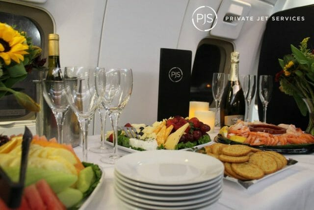 private-jet-services-inflight-food
