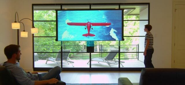 rollable tv